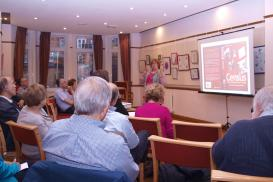 Audrey Collins of National Archives at the Chilterns Group 2014